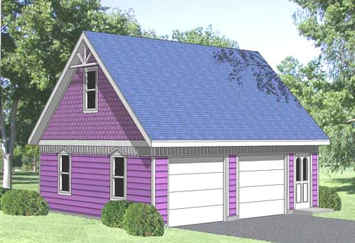 Garage Loft Plan No. GL-9301